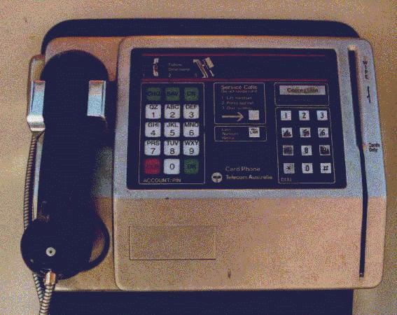 australian public telephones history of - Payphone Calling Cards